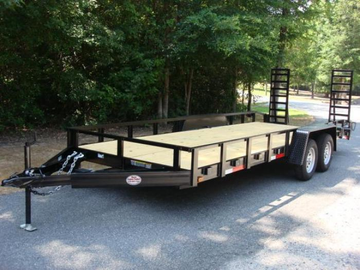http://www.maconcustomtrailers.com/autos/2019-Macon-Custom-Flatbed-Equipment-Macon-GA-1027 - Photo #0
