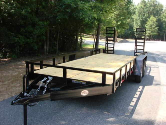 2020 Black Macon Custom Flatbed & Equipment , located at 1330 Rainey Rd., Macon, GA, 31220, (478) 960-1044, 32.845638, -83.778687 - Photo #2
