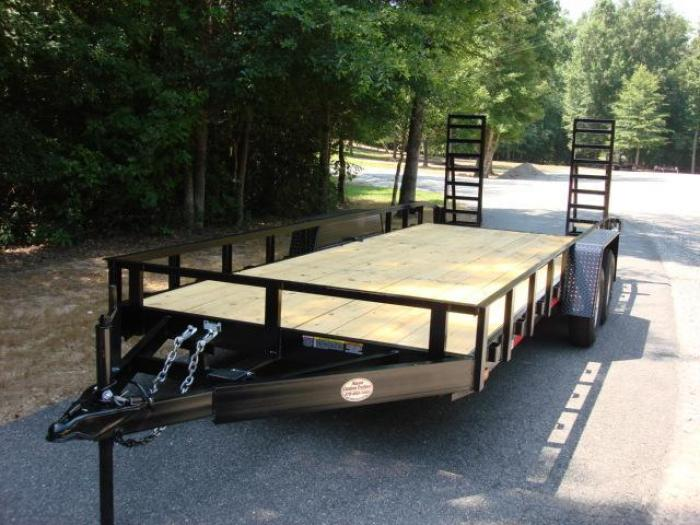 http://www.maconcustomtrailers.com/autos/2019-Macon-Custom-Flatbed-Equipment-Macon-GA-1027 - Photo #2