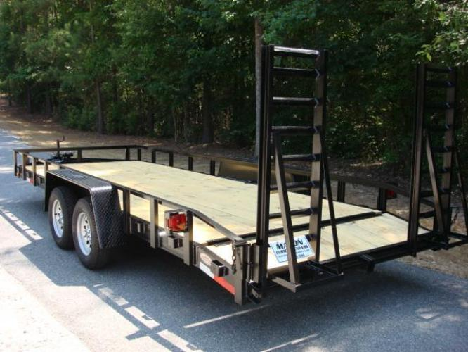 2020 Black Macon Custom Flatbed & Equipment , located at 1330 Rainey Rd., Macon, GA, 31220, (478) 960-1044, 32.845638, -83.778687 - Photo #4
