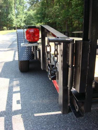 2020 Black Macon Custom Flatbed & Equipment , located at 1330 Rainey Rd., Macon, GA, 31220, (478) 960-1044, 32.845638, -83.778687 - Photo #7