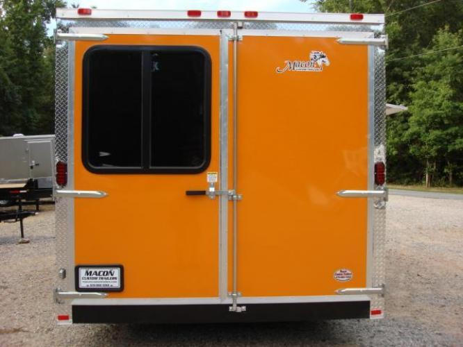 2019 Orange Freedom 8.5ft X 20ft Tandem Concession Trailer , located at 1330 Rainey Rd., Macon, GA, 31220, (478) 960-1044, 32.845638, -83.778687 - Photo #9