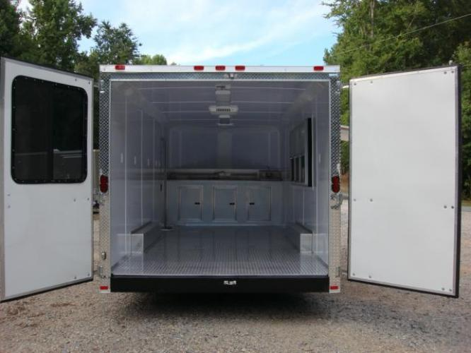 2019 Orange Freedom 8.5ft X 20ft Tandem Concession Trailer , located at 1330 Rainey Rd., Macon, GA, 31220, (478) 960-1044, 32.845638, -83.778687 - Photo #12