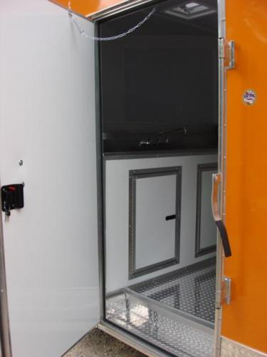 2019 Orange Freedom 8.5ft X 20ft Tandem Concession Trailer , located at 1330 Rainey Rd., Macon, GA, 31220, (478) 960-1044, 32.845638, -83.778687 - Photo #22