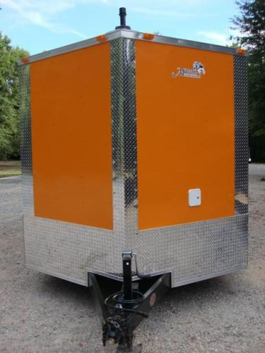 2019 Orange Freedom 8.5ft X 20ft Tandem Concession Trailer , located at 1330 Rainey Rd., Macon, GA, 31220, (478) 960-1044, 32.845638, -83.778687 - Photo #33