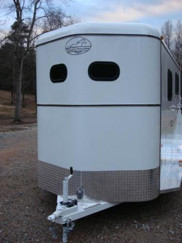 2019 White Bee Trailers 2 Horse Straight Load , located at 1330 Rainey Rd., Macon, GA, 31220, (478) 960-1044, 32.845638, -83.778687 - Photo #27