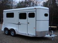 http://www.maconcustomtrailers.com/autos/2019-Bee-Trailers-2-Horse-Straight-Load-Macon-GA-1064 - Photo #30
