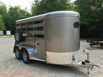 Mini Size Horse & Livestock Trailer 5ft X 12ft, Haul Calves, Goats, Pigs, Sheep, Ponies!