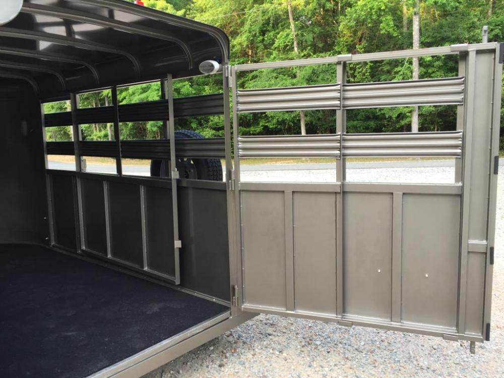 2021 Pewter Metallic Bee Trailers Mini-Livestock , located at 1330 Rainey Rd., Macon, GA, 31220, (478) 960-1044, 32.845638, -83.778687 - Photo #16