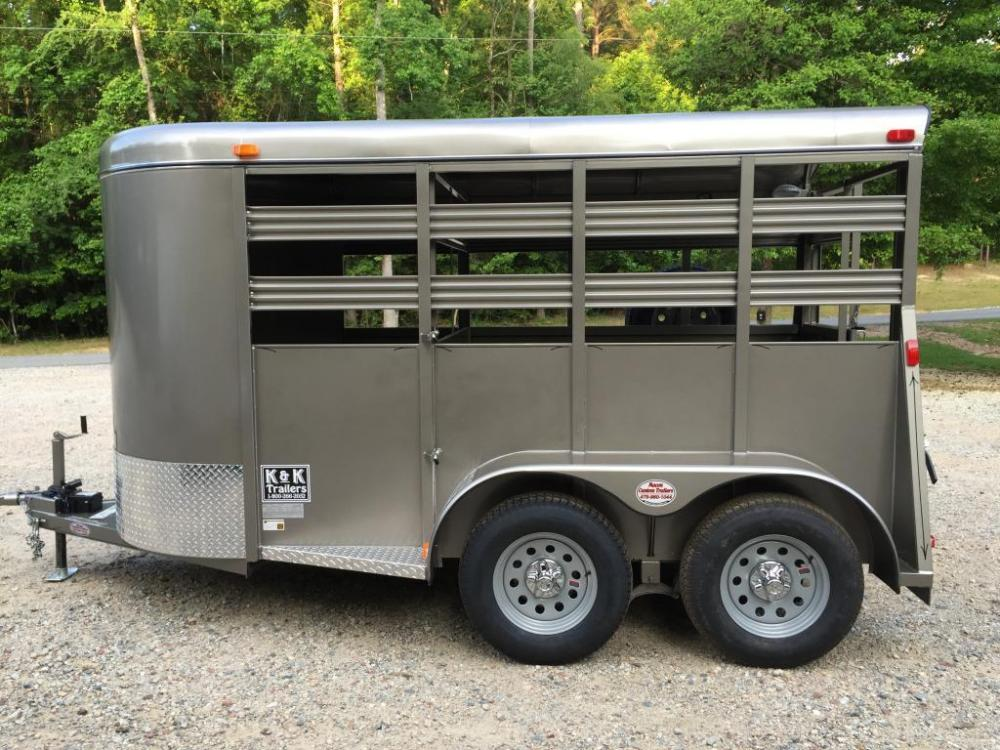 2021 Pewter Metallic Bee Trailers Mini-Livestock , located at 1330 Rainey Rd., Macon, GA, 31220, (478) 960-1044, 32.845638, -83.778687 - Photo #7