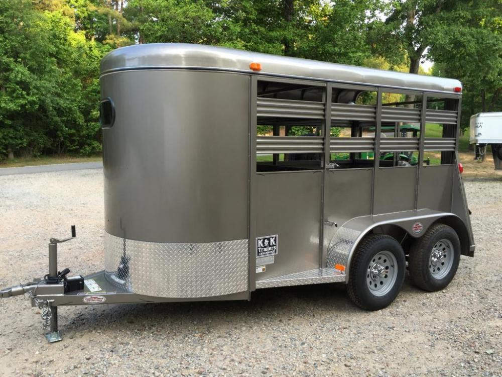 2021 Pewter Metallic Bee Trailers Mini-Livestock , located at 1330 Rainey Rd., Macon, GA, 31220, (478) 960-1044, 32.845638, -83.778687 - Photo #8