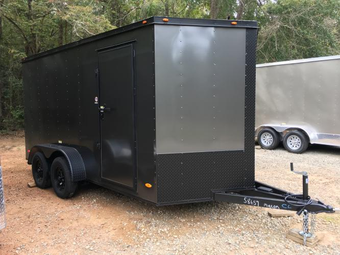 2020 Charcoal Metallic Freedom Enclosed Cargo , located at 1330 Rainey Rd., Macon, GA, 31220, (478) 960-1044, 32.845638, -83.778687 - Photo #19