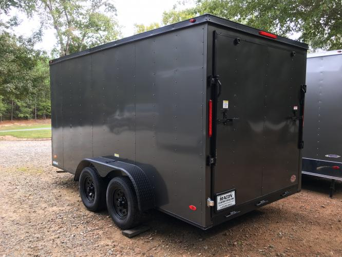 2020 Charcoal Metallic Freedom Enclosed Cargo , located at 1330 Rainey Rd., Macon, GA, 31220, (478) 960-1044, 32.845638, -83.778687 - Photo #7
