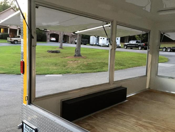 2019 Yellow Freedom 8.5ft X 14ft Concession Trailer , located at 1330 Rainey Rd., Macon, GA, 31220, (478) 960-1044, 32.845638, -83.778687 - Photo #9