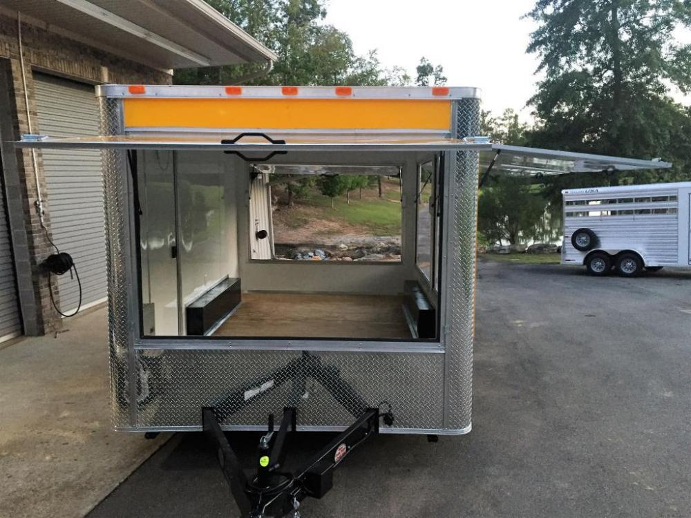 2021 Yellow Freedom 8.5ft X 14ft Concession Trailer , located at 1330 Rainey Rd., Macon, GA, 31220, (478) 960-1044, 32.845638, -83.778687 - Photo #11