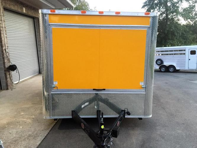 2019 Yellow Freedom 8.5ft X 14ft Concession Trailer , located at 1330 Rainey Rd., Macon, GA, 31220, (478) 960-1044, 32.845638, -83.778687 - Photo #14