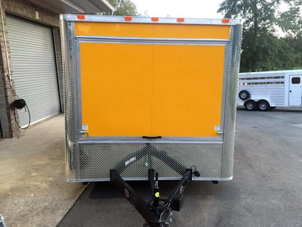 2021 Yellow Freedom 8.5ft X 14ft Concession Trailer , located at 1330 Rainey Rd., Macon, GA, 31220, (478) 960-1044, 32.845638, -83.778687 - Photo #14