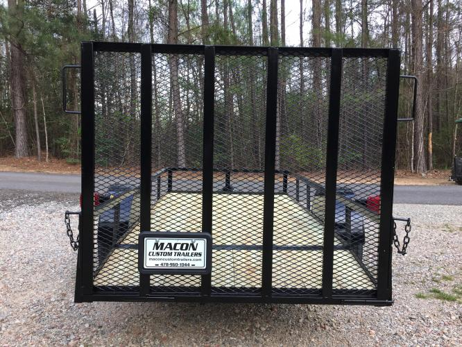 2019 Black Macon Custom Utility & Landscape , located at 1330 Rainey Rd., Macon, GA, 31220, (478) 960-1044, 32.845638, -83.778687 - Photo #3