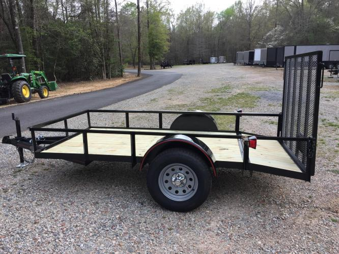 2019 Black Macon Custom Utility & Landscape , located at 1330 Rainey Rd., Macon, GA, 31220, (478) 960-1044, 32.845638, -83.778687 - Photo #4