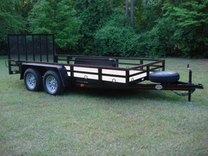 2019 Black Macon Custom 6.5ft X 12ft Tandem , located at 1330 Rainey Rd., Macon, GA, 31220, (478) 960-1044, 32.845638, -83.778687 - Photo #0