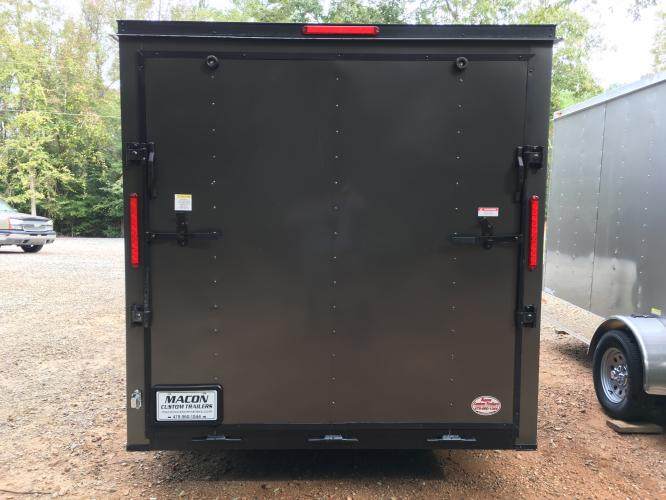 2021 Charcoal Metallic w/Black Out Pkg. Freedom 7ft X 16ft Cargo Trailer , located at 1330 Rainey Rd., Macon, GA, 31220, (478) 960-1044, 32.845638, -83.778687 - Photo #7