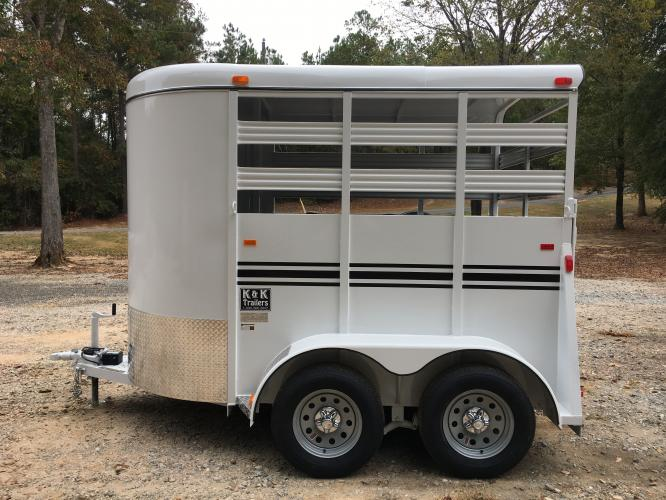 2020 White Bee Trailers 2 Horse Straight Load , located at 1330 Rainey Rd., Macon, GA, 31220, (478) 960-1044, 32.845638, -83.778687 - Photo #5