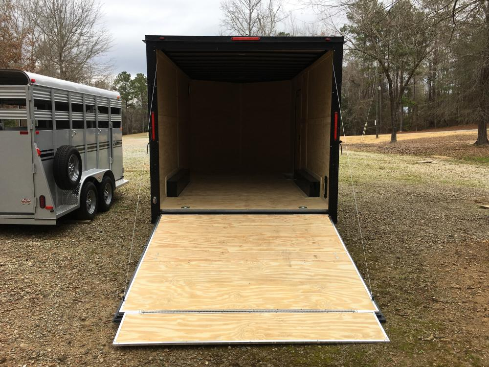 2021 Freedom Trailers 8.5ft X 16ft Tandem , located at 1330 Rainey Rd., Macon, GA, 31220, (478) 960-1044, 32.845638, -83.778687 - Photo #3