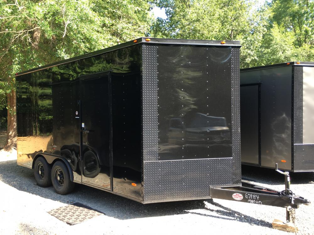 2021 Freedom Trailers 8.5ft X 16ft Tandem , located at 1330 Rainey Rd., Macon, GA, 31220, (478) 960-1044, 32.845638, -83.778687 - Photo #0