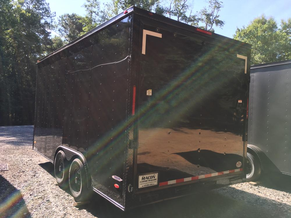 2021 Freedom Trailers 8.5ft X 16ft Tandem , located at 1330 Rainey Rd., Macon, GA, 31220, (478) 960-1044, 32.845638, -83.778687 - Photo #2