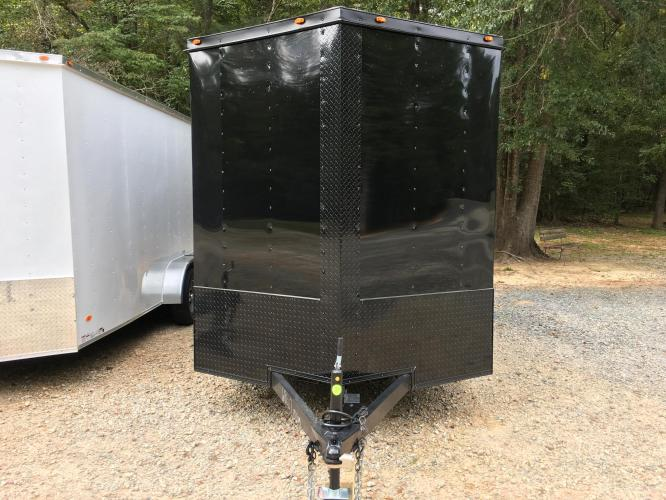2021 Black Freedom Trailers 7ft X 14ft Tandem Black Out Package , located at 1330 Rainey Rd., Macon, GA, 31220, (478) 960-1044, 32.845638, -83.778687 - Photo #5