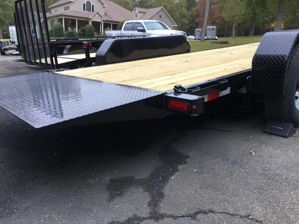 2021 Black Sure-Trac 7 Ton Tilt Bed Trailer , located at 1330 Rainey Rd., Macon, GA, 31220, (478) 960-1044, 32.845638, -83.778687 - Photo #16