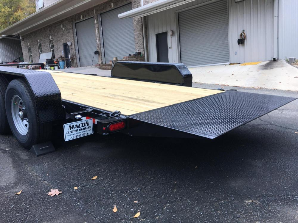 2021 Black Sure-Trac 7 Ton Tilt Bed Trailer , located at 1330 Rainey Rd., Macon, GA, 31220, (478) 960-1044, 32.845638, -83.778687 - Photo #3