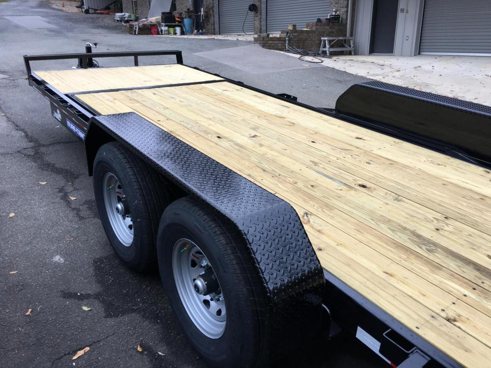 2021 Black Sure-Trac 7 Ton Tilt Bed Trailer , located at 1330 Rainey Rd., Macon, GA, 31220, (478) 960-1044, 32.845638, -83.778687 - Photo #4