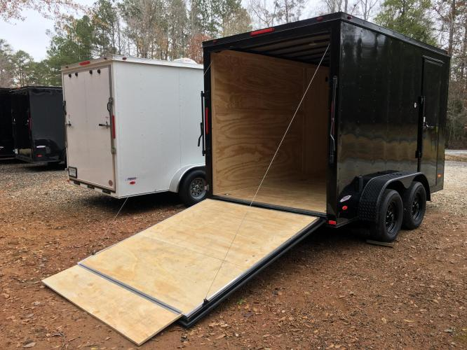 2021 Freedom Trailers 6ft X 12ft SAVN , located at 1330 Rainey Rd., Macon, GA, 31220, (478) 960-1044, 32.845638, -83.778687 - Photo #9