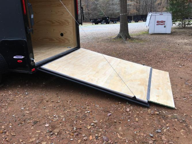 2021 Freedom Trailers 6ft X 12ft SAVN , located at 1330 Rainey Rd., Macon, GA, 31220, (478) 960-1044, 32.845638, -83.778687 - Photo #14