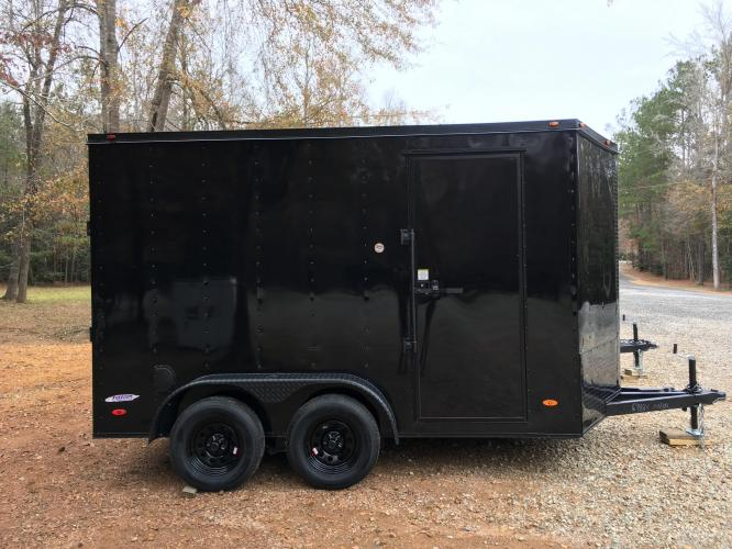 2021 Freedom Trailers 6ft X 12ft SAVN , located at 1330 Rainey Rd., Macon, GA, 31220, (478) 960-1044, 32.845638, -83.778687 - Photo #1