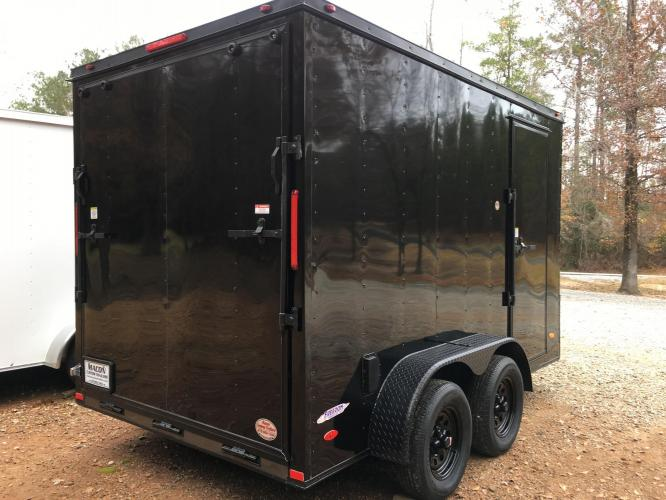 2021 Freedom Trailers 6ft X 12ft SAVN , located at 1330 Rainey Rd., Macon, GA, 31220, (478) 960-1044, 32.845638, -83.778687 - Photo #3