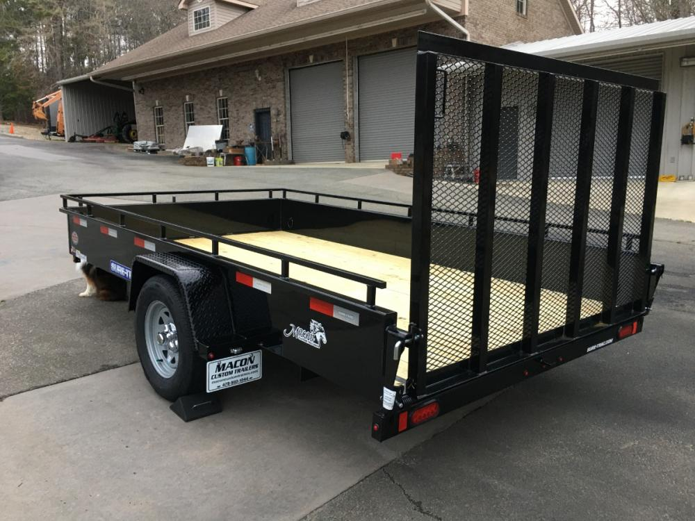 2021 Black Sure-Trac 7ft X 12ft Sure Trac , located at 1330 Rainey Rd., Macon, GA, 31220, (478) 960-1044, 32.845638, -83.778687 - Photo #9