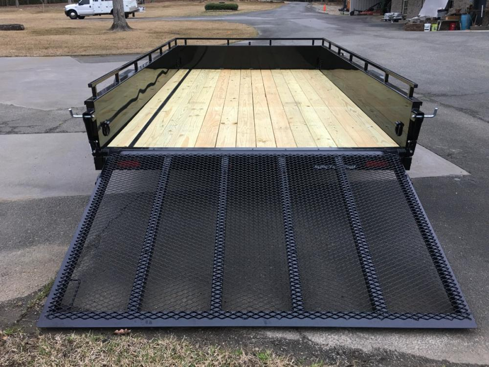 2021 Black Sure-Trac 7ft X 12ft Sure Trac , located at 1330 Rainey Rd., Macon, GA, 31220, (478) 960-1044, 32.845638, -83.778687 - Photo #13