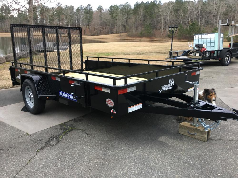 2021 Black Sure-Trac 7ft X 12ft Sure Trac , located at 1330 Rainey Rd., Macon, GA, 31220, (478) 960-1044, 32.845638, -83.778687 - Photo #3
