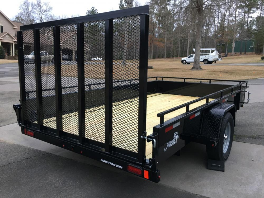 2021 Black Sure-Trac 7ft X 12ft Sure Trac , located at 1330 Rainey Rd., Macon, GA, 31220, (478) 960-1044, 32.845638, -83.778687 - Photo #8