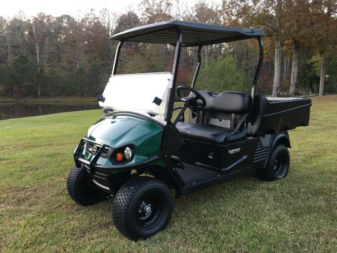 2018 Like New Cushman Hauler Pro 1200, 13hp Kawasaki Ga, Electric Dump Bed!