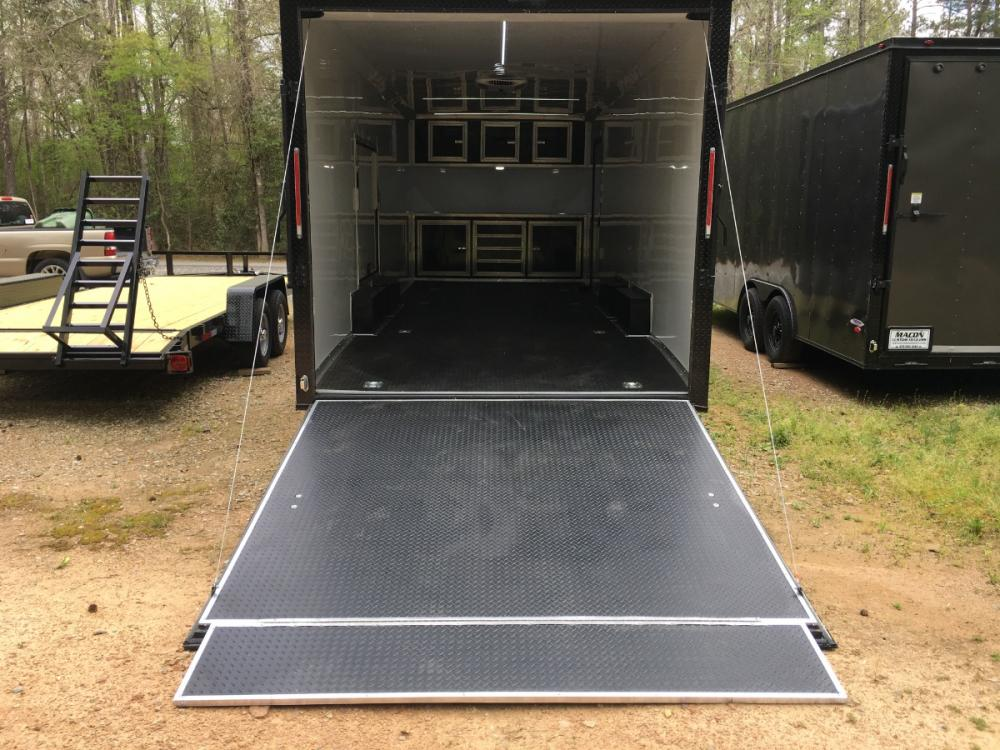 2021 Charcoal Metallic w/Black Out Pkg. Freedom Trailers 8.5ft X 24ft Race Ready Pkg , located at 1330 Rainey Rd., Macon, GA, 31220, (478) 960-1044, 32.845638, -83.778687 - Photo #10