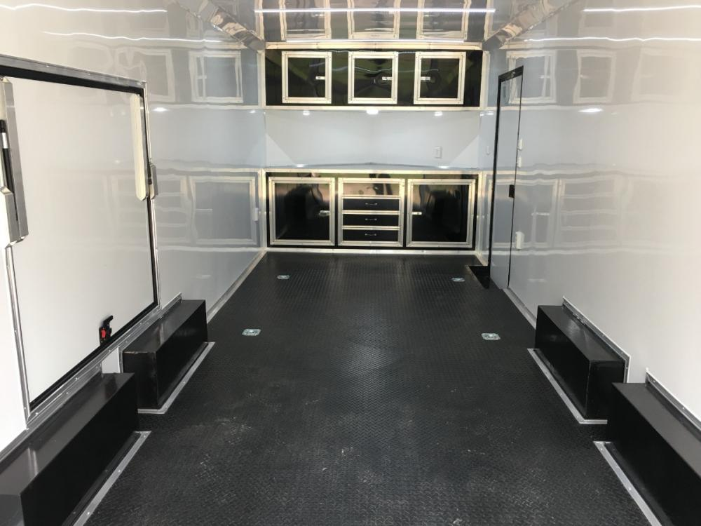 2021 Charcoal Metallic w/Black Out Pkg. Freedom Trailers 8.5ft X 24ft Race Ready Pkg , located at 1330 Rainey Rd., Macon, GA, 31220, (478) 960-1044, 32.845638, -83.778687 - Photo #13