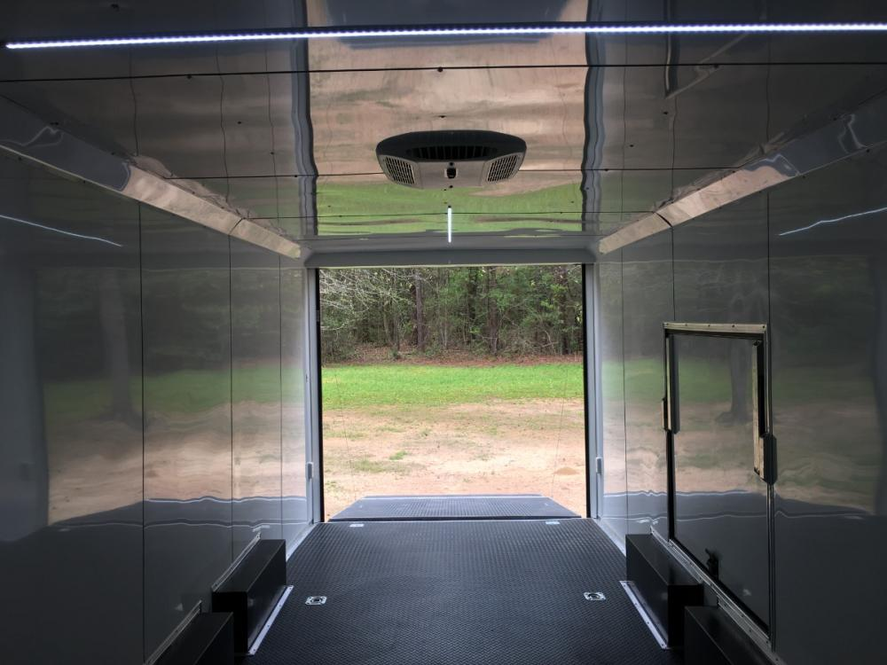 2021 Charcoal Metallic w/Black Out Pkg. Freedom Trailers 8.5ft X 24ft Race Ready Pkg , located at 1330 Rainey Rd., Macon, GA, 31220, (478) 960-1044, 32.845638, -83.778687 - Photo #20