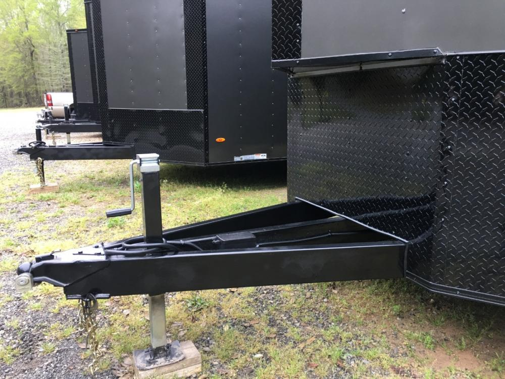2021 Charcoal Metallic w/Black Out Pkg. Freedom Trailers 8.5ft X 24ft Race Ready Pkg , located at 1330 Rainey Rd., Macon, GA, 31220, (478) 960-1044, 32.845638, -83.778687 - Photo #7