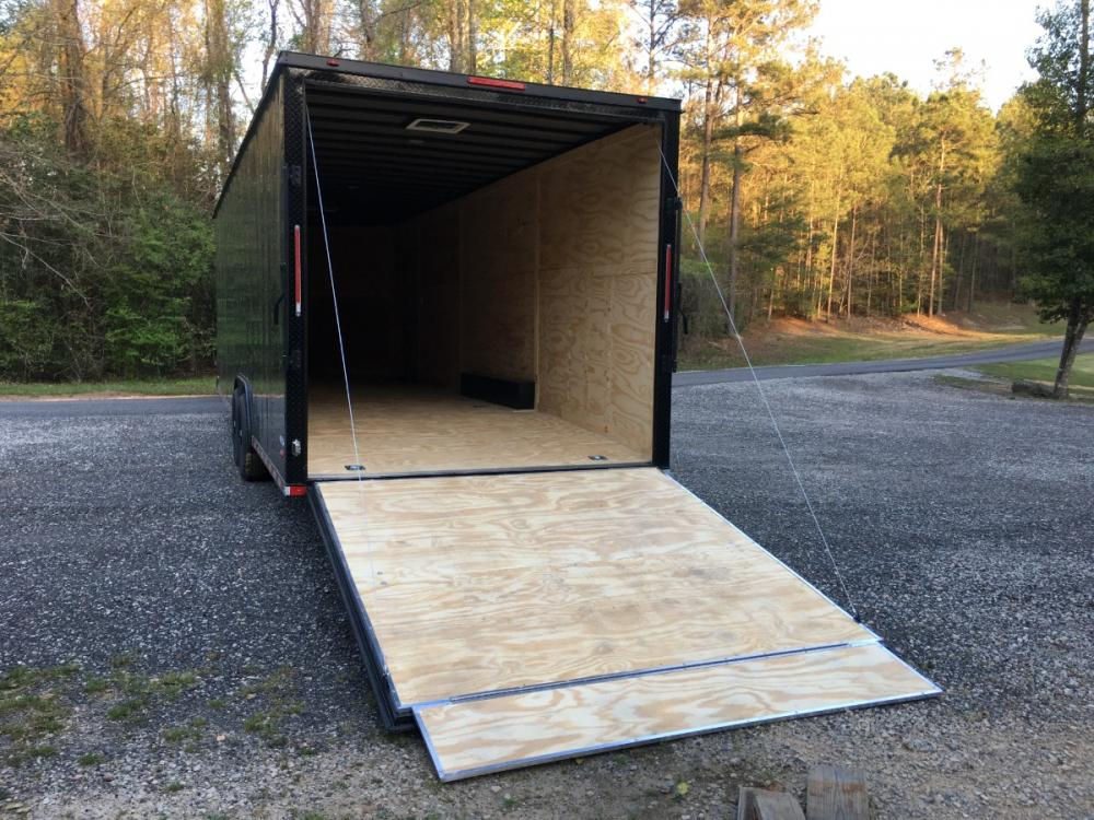 2021 Charcoal Metallic w/Black Out Pkg. Freedom Trailers 8.5ft X 28ft Tandem , located at 1330 Rainey Rd., Macon, GA, 31220, (478) 960-1044, 32.845638, -83.778687 - Photo #11