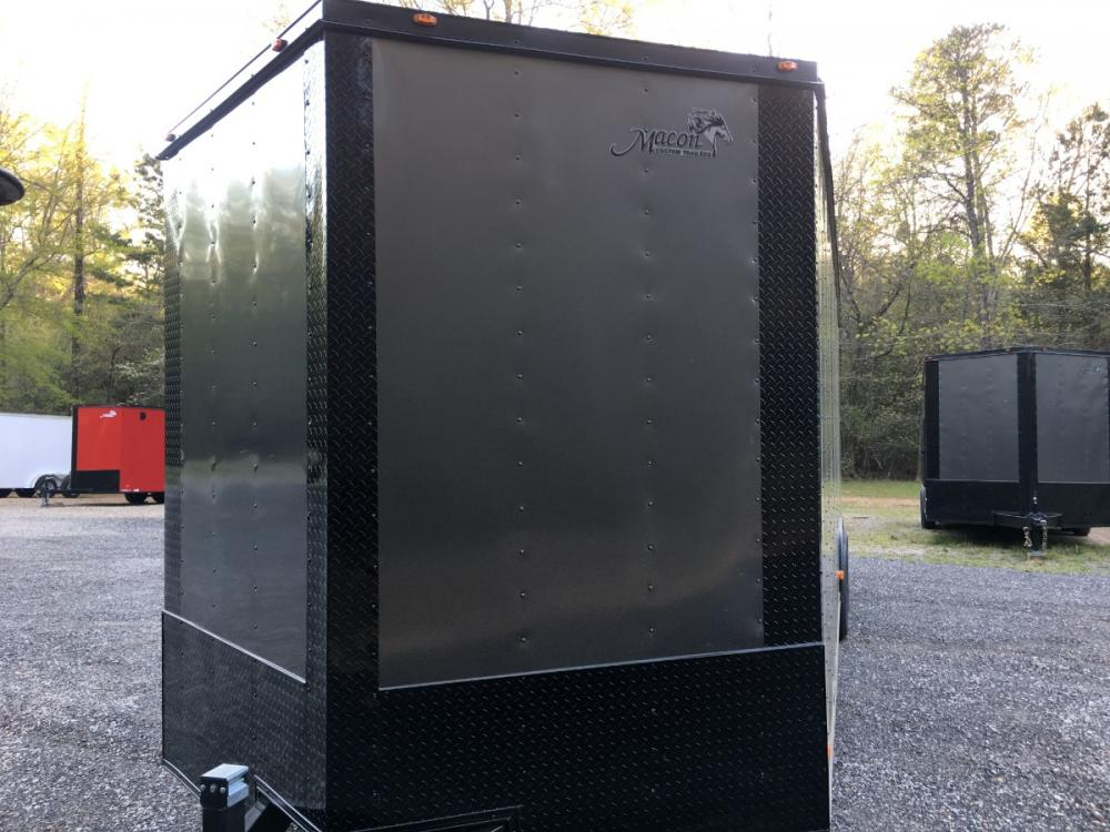 2021 Charcoal Metallic w/Black Out Pkg. Freedom Trailers 8.5ft X 28ft Tandem , located at 1330 Rainey Rd., Macon, GA, 31220, (478) 960-1044, 32.845638, -83.778687 - Photo #5