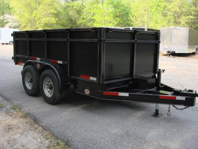 2020 Black C & W Dump Trailer , located at 1330 Rainey Rd., Macon, GA, 31220, (478) 960-1044, 32.845638, -83.778687 - Photo #9
