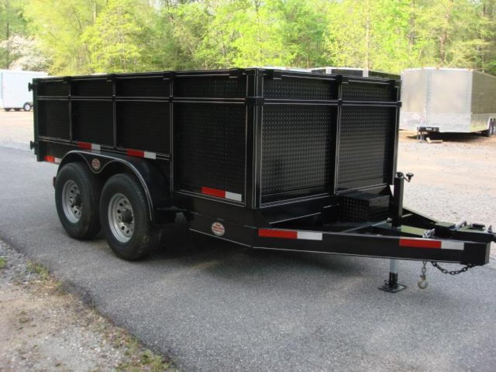 2021 Black C & W Dump Trailer , located at 1330 Rainey Rd., Macon, GA, 31220, (478) 960-1044, 32.845638, -83.778687 - Photo #9